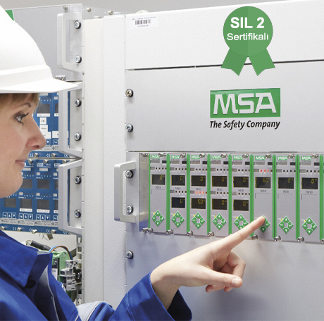 MSA - 9010/9020 SIL2 Sertifikalı Gaz Kontrol Ünitesi